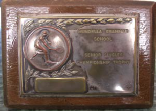Tennis Senior Singles Trophy
