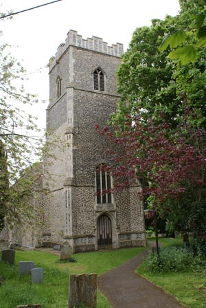 St Mary's CHurch, Martlesham, Suffolk