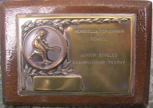 Tennis - Junior Singles